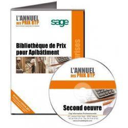 Annuel des Prix pour ApiBâtiment Batigest Second Oeuvre - Achetez au meilleur prix sur Tout-pour-la-gestion.com