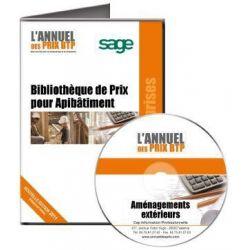 Annuel des Prix pour ApiBâtiment Batigest Aménagements Extérieurs - Achetez au meilleur prix sur Tout-pour-la-gestion.com
