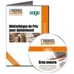 Annuel des Prix pour ApiBâtiment Batigest Gros Oeuvre - Achetez au meilleur prix sur Tout-pour-la-gestion.com