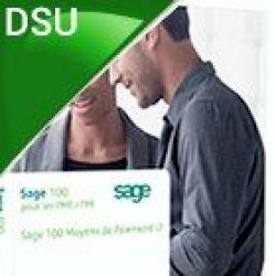 Sage 100 Moyens de paiement EBICS i7 Pack SQL Server DSU