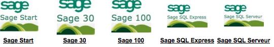Sage Gamme de logiciel de gestion